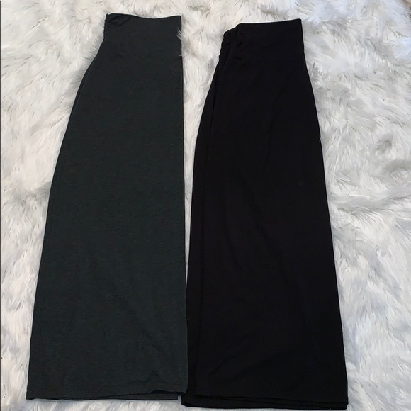 Faded Glory Dresses & Skirts - Pair of Maxi Skirts